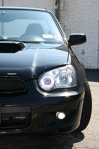 2004 wrx front headlight bright