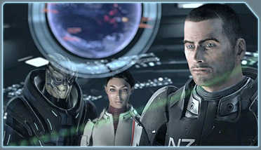 mass effect game screenshot with human characters