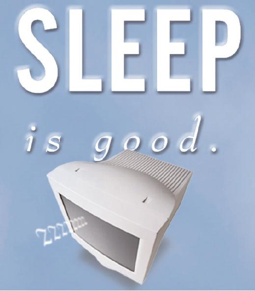 sleep is good image